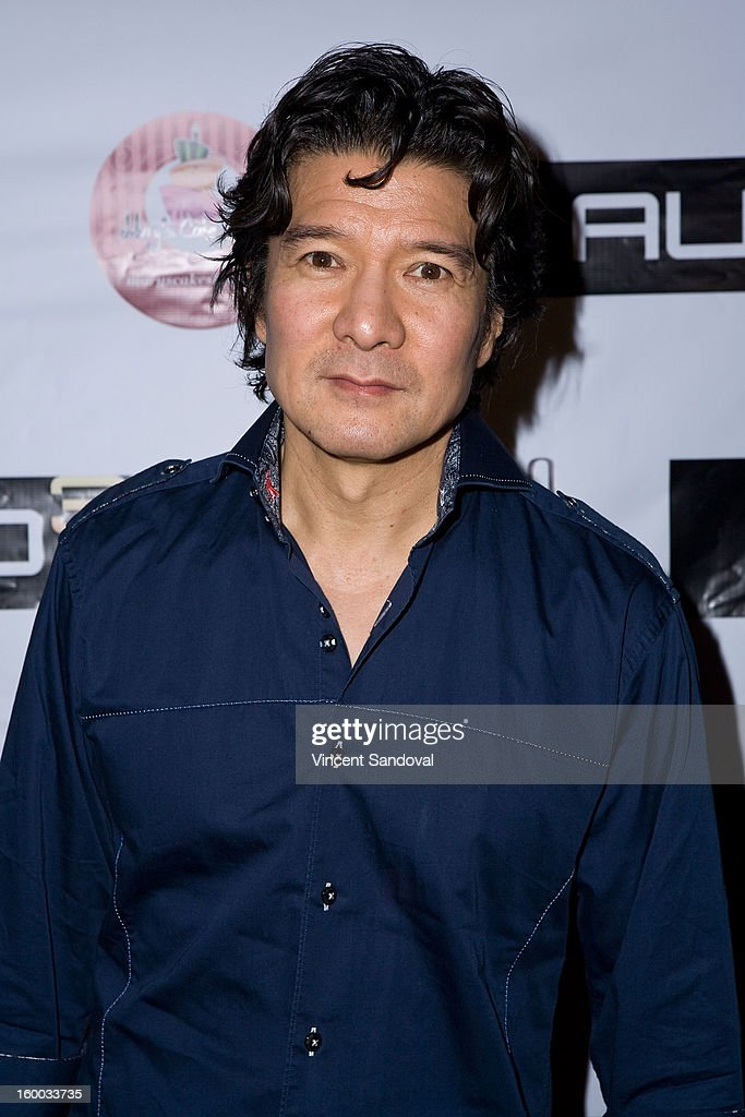 Actor Tohoru Masamune attends the premiere of 'Vishwaroopam' at Pacific Theaters at the Grove on January 24, 2013 in Los Angeles, California.