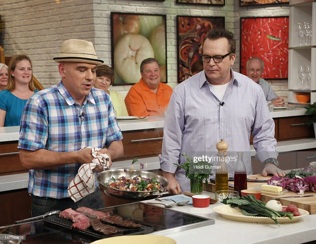 THE CHEW - (6.25.12) - Actor Tom Arnold visits 'The Chew.' 'The Chew' airs MONDAY - FRIDAY (1-2pm, ET) on the ABC Television Network. ARNOLD