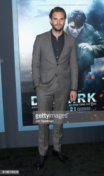 Actor Tom Bateman attends the 'DUNKIRK' New York premiere at AMC Lincoln Square IMAX on July 18 2017 in New York City