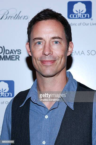 Actor Tom Cavanagh attends a screening of '500 Days of Summer' hosted by the Cinema Society with Brooks Brothers Cotton at the Tribeca Grand...