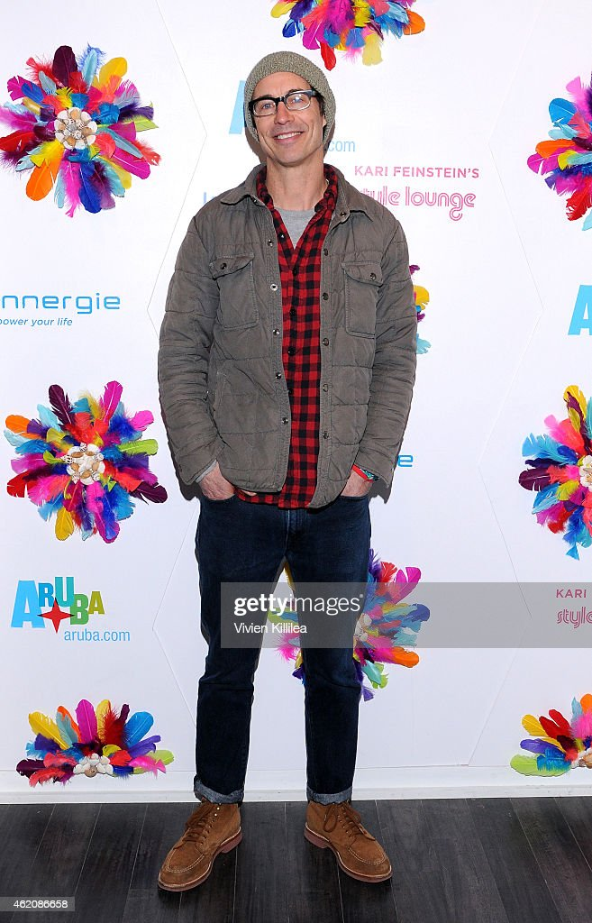 Actor Tom Cavanagh attends Kari Feinstein's Style Lounge Presented by Aruba on January 24, 2015 in Park City, Utah.