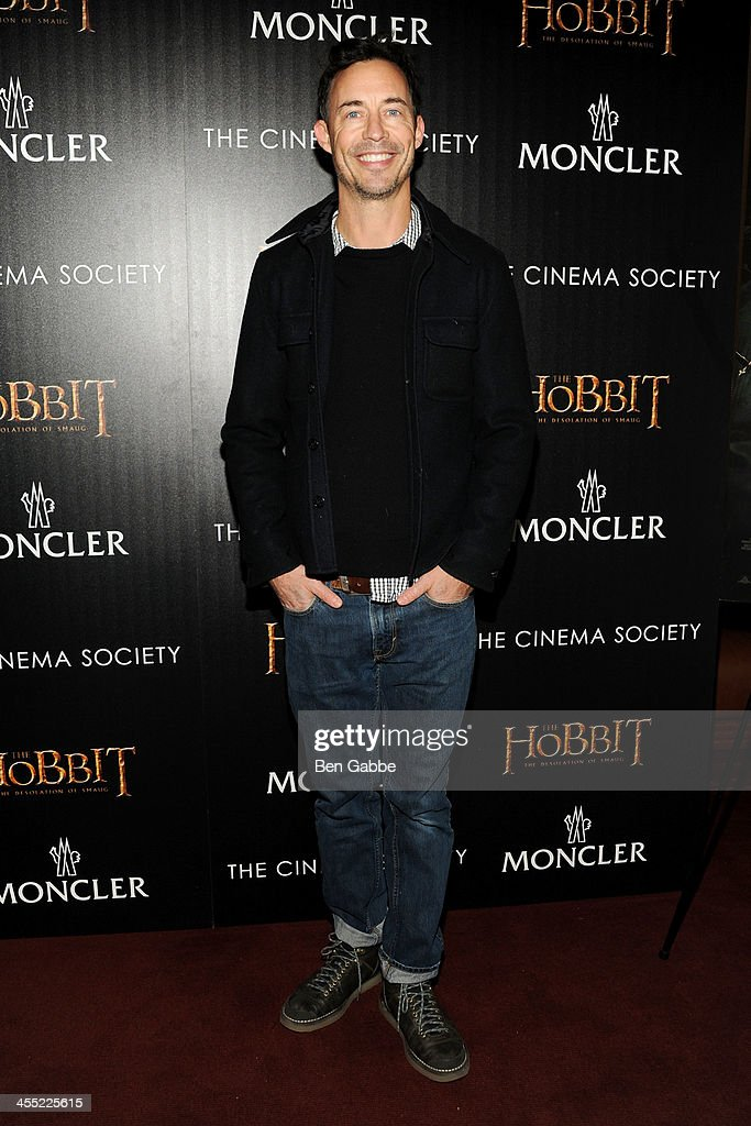 Actor Tom Cavanagh attends The Cinema Society & Moncler host a screening of New Line Cinema & MGM Pictures' 'The Hobbit: The Desolation of Smaug' at Time Warner Screening Room on December 11, 2013 in New York City.