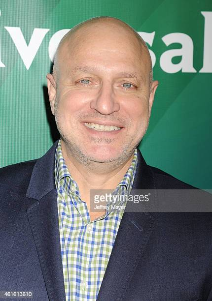 Actor Tom Colicchio attends the NBCUniversal 2015 Press Tour at the Langham Huntington Hotel on January 15 2015 in Pasadena California