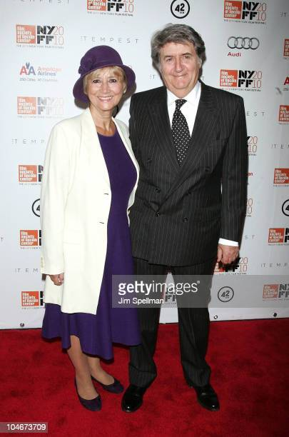 Actor Tom Conti and guest attend the 48th New York Film Festival premiere of 'The Tempest' at Alice Tully Hall on October 2 2010 in New York City