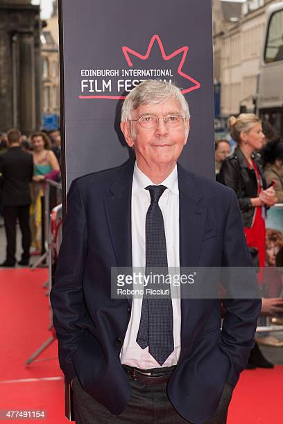 Actor Tom Courtenay attends the Opening Night Gala and World Premiere of 'The Legend of Barney Thomson' at Festival Theatre during the Edinburgh...