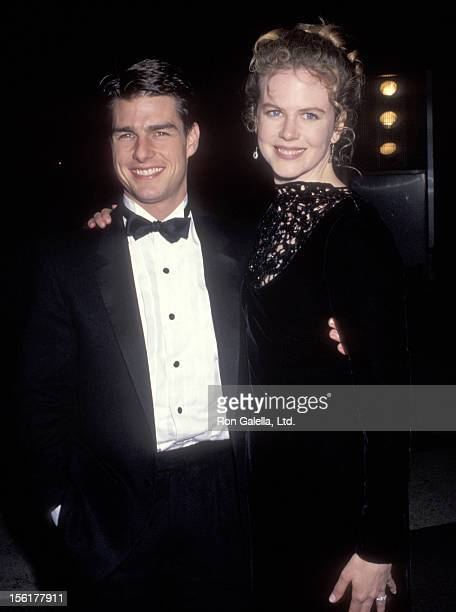 Actor Tom Cruise and actress Nicole Kidman attend the 'Carmen' Opening Night Performance on January 22 1992 at Dorothy Chandler Pavilion Los Angeles...