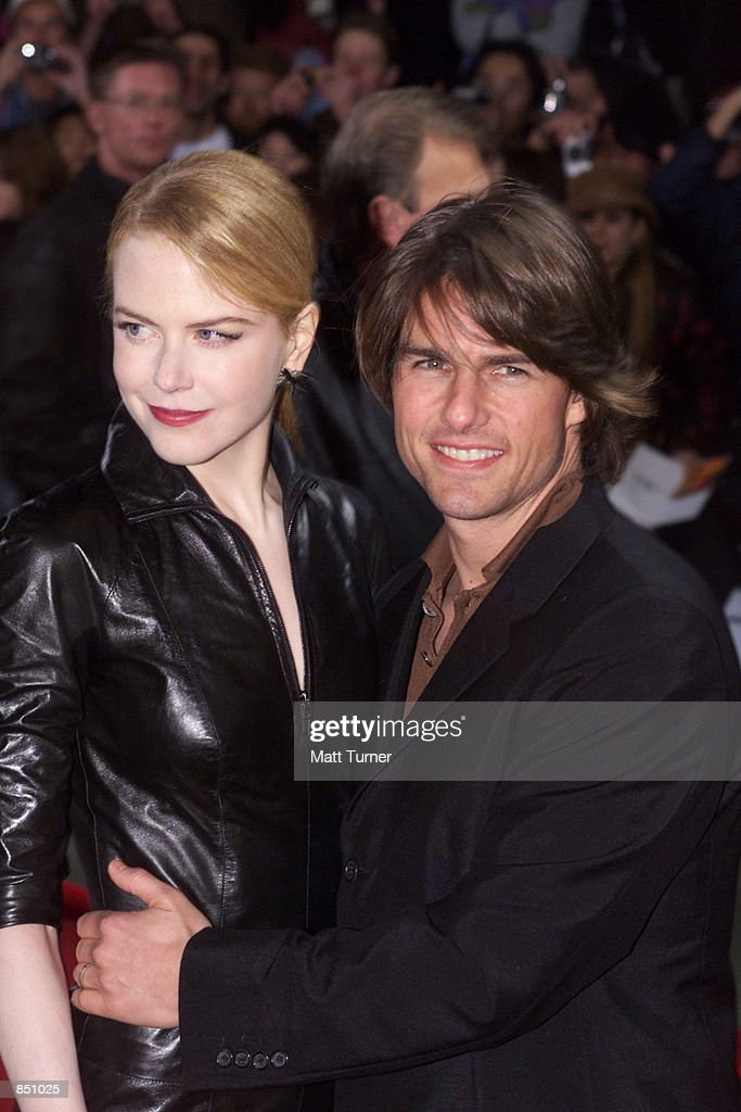 Actor <a gi-track='captionPersonalityLinkClicked' href=/galleries/search?phrase=Tom+Cruise&family=editorial&specificpeople=156405 ng-click='$event.stopPropagation()'>Tom Cruise</a> and his wife <a gi-track='captionPersonalityLinkClicked' href=/galleries/search?phrase=Nicole+Kidman&family=editorial&specificpeople=156404 ng-click='$event.stopPropagation()'>Nicole Kidman</a> pose for photographers at the Sydney premiere of 'Mission Impossible 2' May 30, 2000 at Fox Studios in Australia. Cruise and Kidman, one of the Hollywood's best-known couples, announced February 5, 2001 that they are separating after more than a decade of marriage.