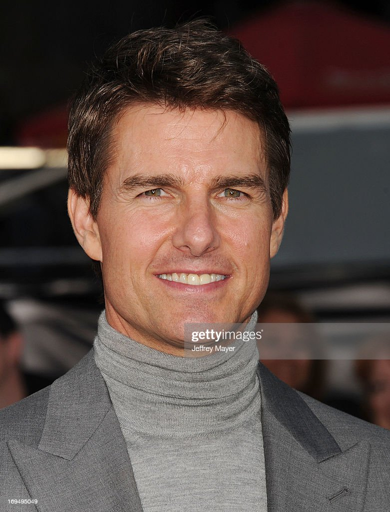 Actor <a gi-track='captionPersonalityLinkClicked' href=/galleries/search?phrase=Tom+Cruise&family=editorial&specificpeople=156405 ng-click='$event.stopPropagation()'>Tom Cruise</a> arrives at the 'Oblivion' Los Angeles Premiere at Dolby Theatre on April 10, 2013 in Hollywood, California.