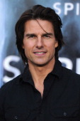 Actor Tom Cruise arrives at the premiere of Paramount Pictures' 'Super 8' at Regency Village Theatre on June 8 2011 in Westwood California