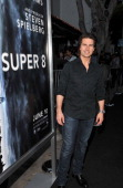 Actor Tom Cruise arrives at the 'Super 8' Los Angeles Premiere held at Regency Village Theatre on June 8 2011 in Westwood California