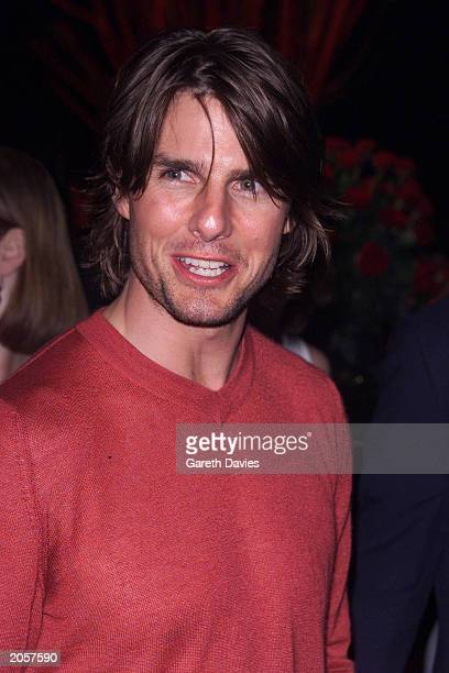 Actor Tom Cruise at the Mission Impossible 2 premiere party at Tower Bridge London on July 4 2000 Cruise played Ethan Hunt in the film