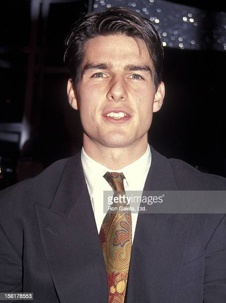 Actor Tom Cruise attends the 1992 NATO/ShoWest Convention on February 19 1992 at Bally's Hotel and Casino in Las Vegas Nevada
