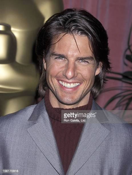 Actor Tom Cruise attends the 72nd Annual Academy Awards Nominees Luncheon on March 13 2000 at Beverly Hilton Hotel in Beverly Hills California