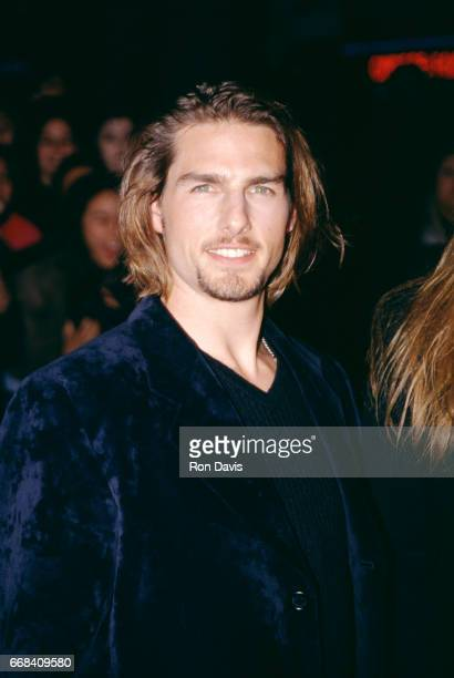 Actor Tom Cruise attends the 'Interview with the Vampire The Vampire Chronicles' Westwood Premiere on November 9 1994 at Mann Village Theatre in...