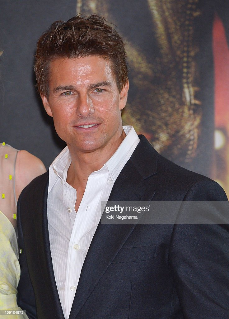 Actor Tom Cruise attends the 'Jack Reacher' Japan Premiere at Tokyo International Forum on January 9, 2013 in Tokyo, Japan.