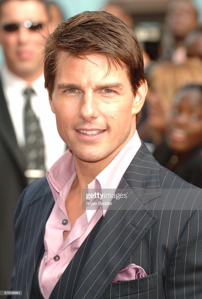 Actor <a gi-track='captionPersonalityLinkClicked' href=/galleries/search?phrase=Tom+Cruise&family=editorial&specificpeople=156405 ng-click='$event.stopPropagation()'>Tom Cruise</a> attends the 'Mission: Impossible III' premiere in Harlem hosted by BET at the Magic Johnson Theatres on May 3, 2006 in New York City.