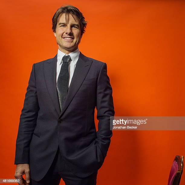 Actor Tom Cruise is photographed at the Charles Finch and Chanel's PreBAFTA on February 7 2015 in London England