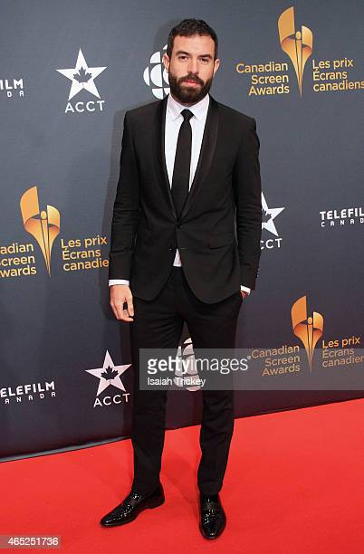 Actor Tom Cullen arrives at the 2015 Canadian Screen Awards at the Four Seasons Centre for the Performing Arts on March 1 2015 in Toronto Canada