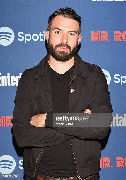 Actor Tom Cullen attends a dinner hosted by Entertainment Weekly celebrating Mr Robot at the Spotify House in Austin TX during SXSW on March 12 2016...