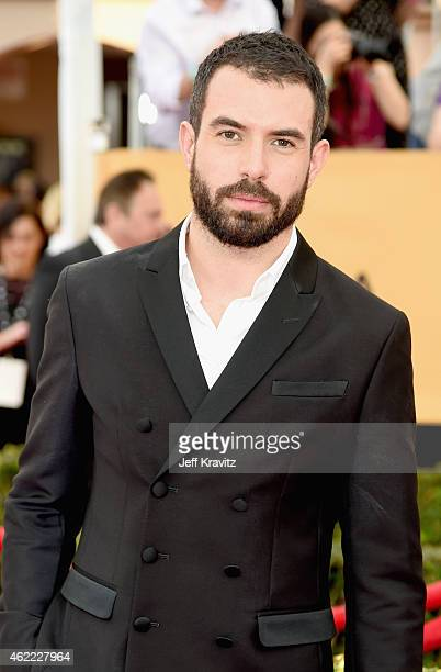 Actor Tom Cullen attends the 21st Annual Screen Actors Guild Awards at The Shrine Auditorium on January 25 2015 in Los Angeles California