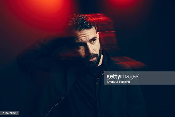 Actor Tom Cullen of 'The Other Half' is photographed in the Getty Images SXSW Portrait Studio powered by Samsung at the Samsung Studio on March 12...