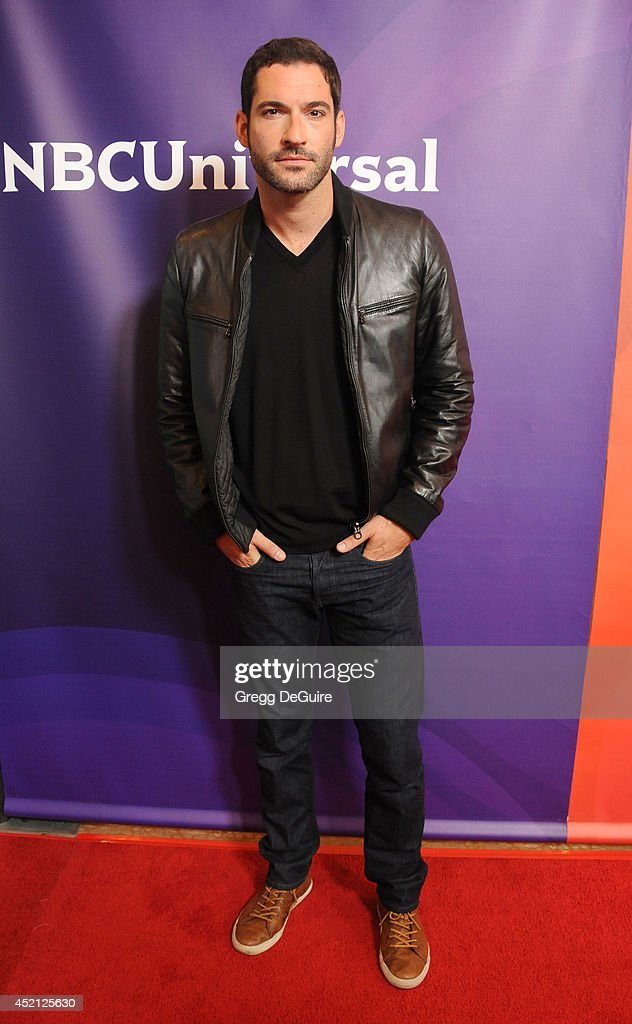 Actor <a gi-track='captionPersonalityLinkClicked' href=/galleries/search?phrase=Tom+Ellis+-+Actor&family=editorial&specificpeople=643597 ng-click='$event.stopPropagation()'>Tom Ellis</a> arrives at the 2014 Television Critics Association Summer Press Tour - NBCUniversal - Day 1 at The Beverly Hilton Hotel on July 13, 2014 in Beverly Hills, California.