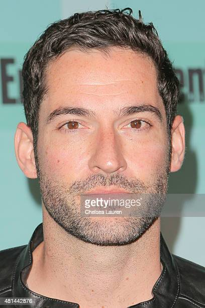 Actor Tom Ellis arrives at the Entertainment Weekly celebration at Float at Hard Rock Hotel San Diego on July 11 2015 in San Diego California