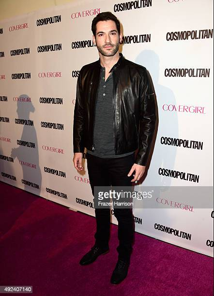 Actor Tom Ellis attends Cosmopolitan's 50th Birthday Celebration at Ysabel on October 12 2015 in West Hollywood California