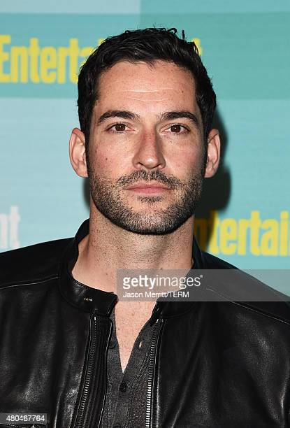 Actor Tom Ellis attends Entertainment Weekly's ComicCon 2015 Party sponsored by HBO Honda Bud Light Lime and Bud Light Ritas at FLOAT at The Hard...