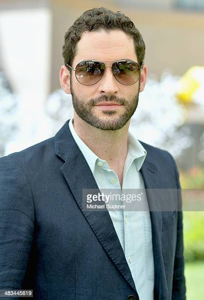 Actor Tom Ellis attends NBCUniversal's Summer Press Day at Langham Hotel on April 8 2014 in Pasadena California