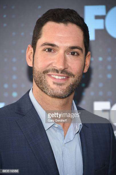 Actor Tom Ellis of the show 'Lucifer' attends the FOX Upfront on May 15 2017 in New York City