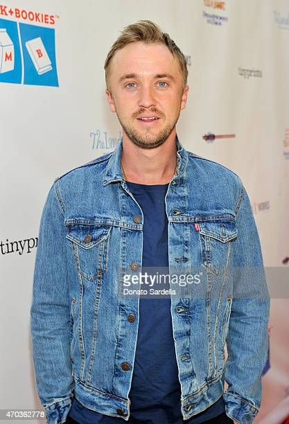 Actor Tom Felton attends Milk Bookies 6th Annual Story Time Celebration on April 19 2015 in Los Angeles California