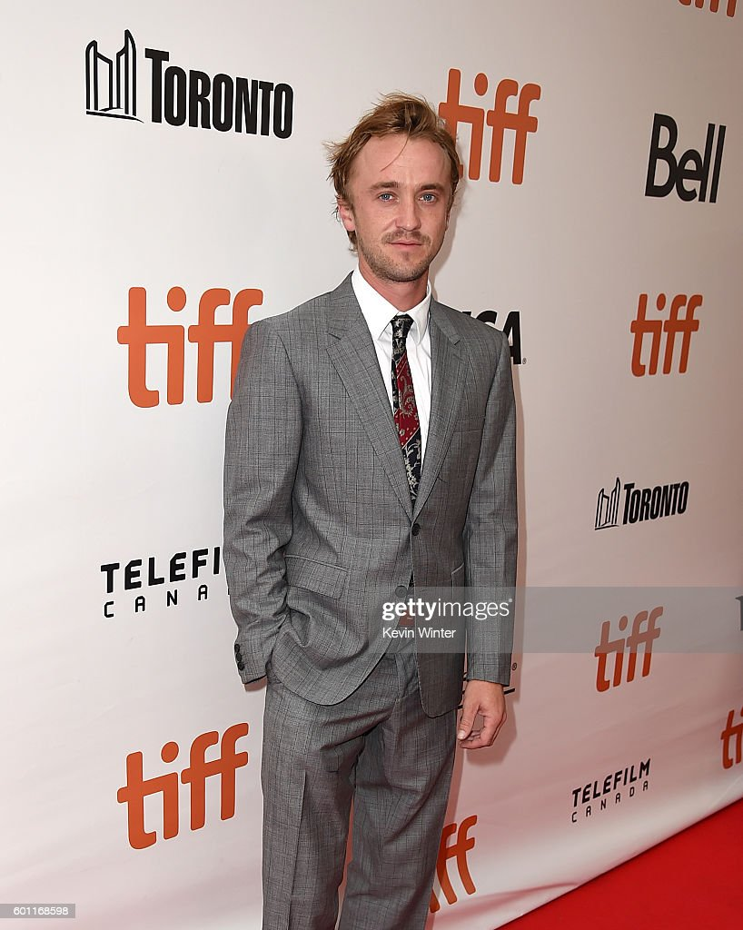 Actor Tom Felton attends the 'A United Kingdom' premiere during the 2016 Toronto International Film Festival at Roy Thomson Hall on September 9, 2016 in Toronto, Canada.