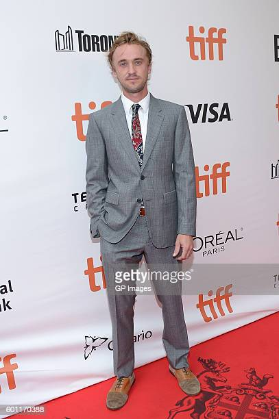Actor Tom Felton attends the 'A United Kingdom' premiere during the 2016 Toronto International Film Festival at Roy Thomson Hall on September 9 2016...