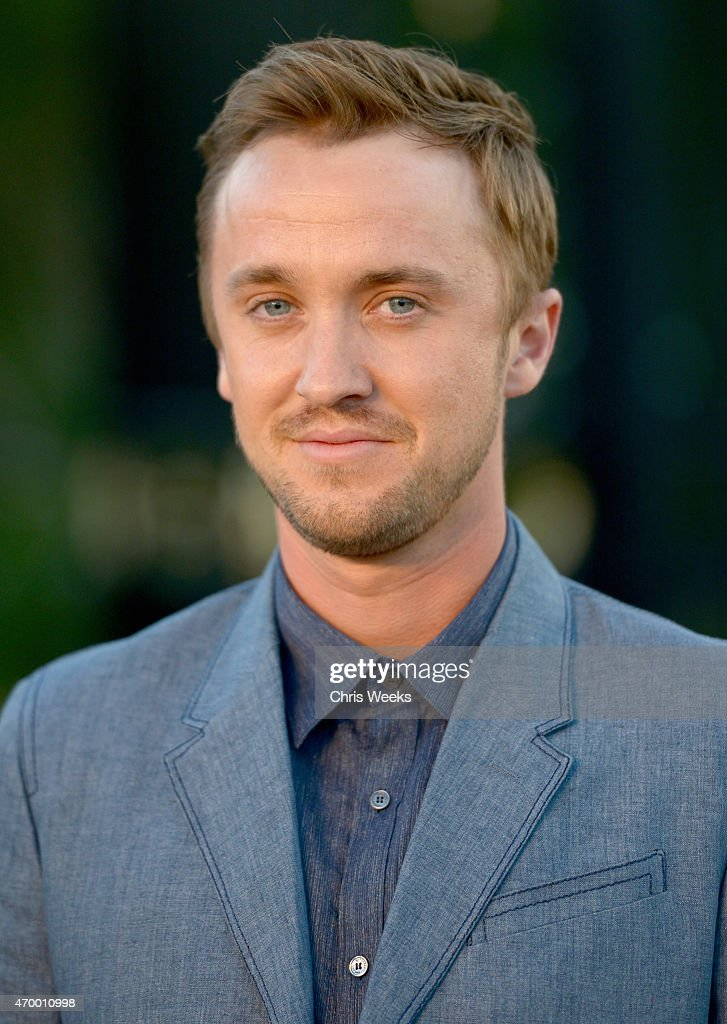 Actor tom felton attends the burberry london in los angeles event at