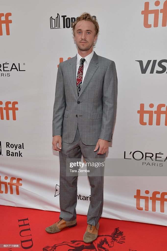Actor Tom Felton attends the premiere of 'A United Kingdom' at the Toronto International Film Festival at Roy Thomson Hall on September 9, 2016 in Toronto, Canada.
