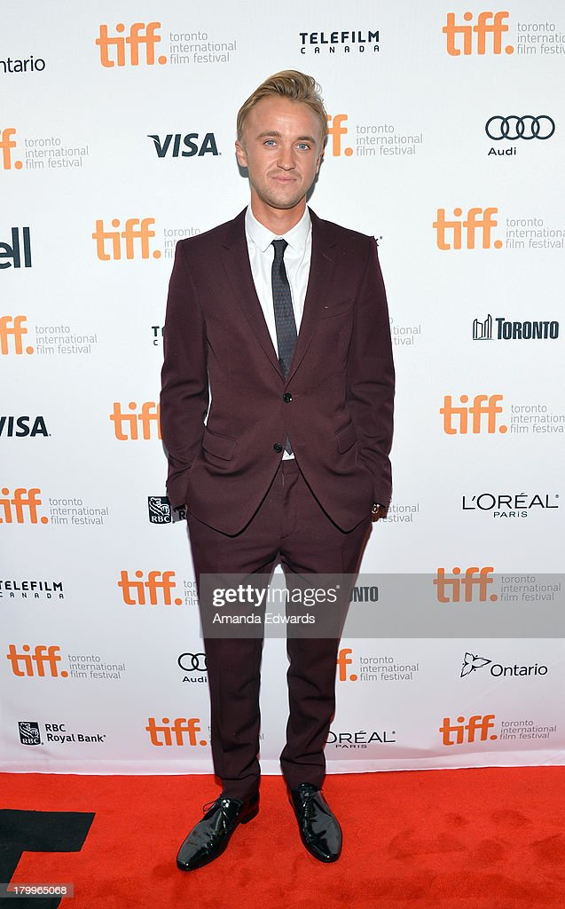 Actor Tom Felton attends the 'Therese' premiere during the 2013 Toronto International Film Festival at Isabel Bader Theatre on September 7, 2013 in Toronto, Canada.
