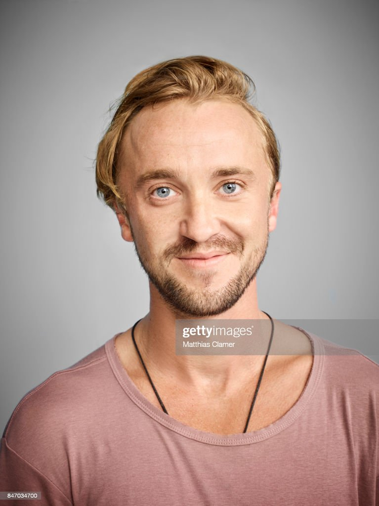 Actor Tom Felton from 'The Flash' is photographed for Entertainment Weekly Magazine on July 23, 2016 at Comic Con in the Hard Rock Hotel in San Diego, California.