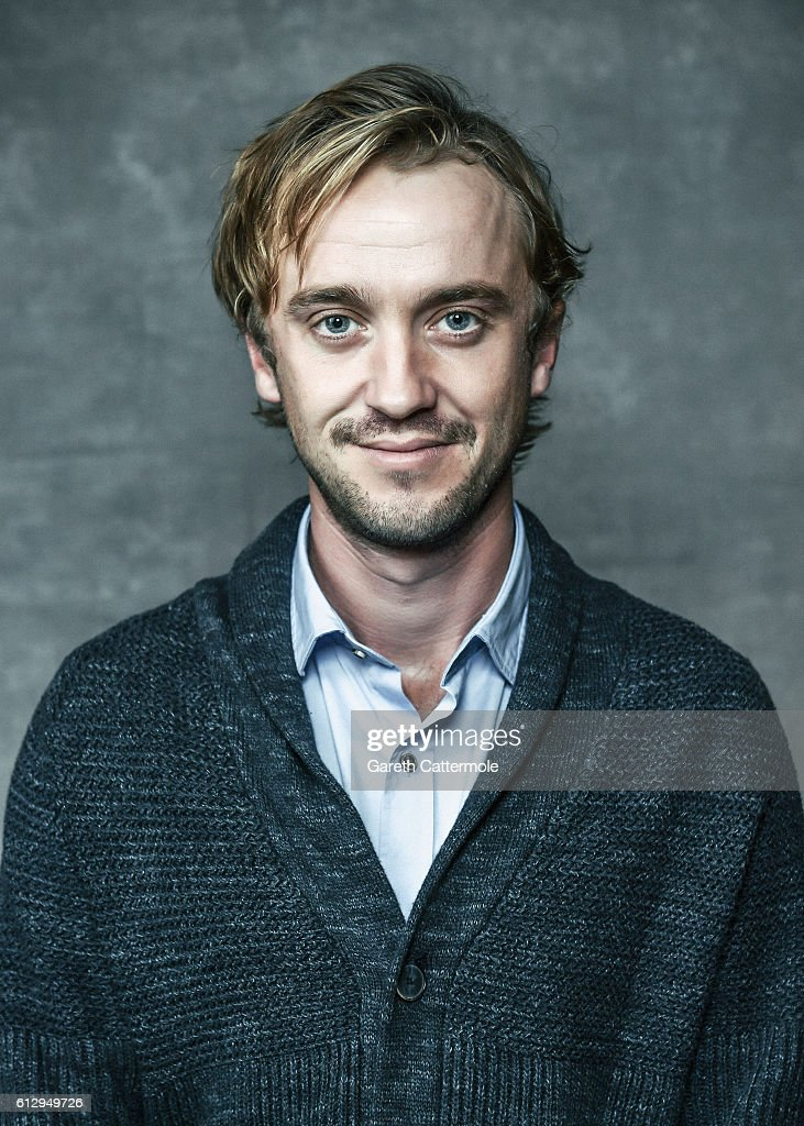 Actor Tom Felton is photographed during the 60th BFI London Film Festival at The Mayfair Hotel on October 5, 2016 in London, England.