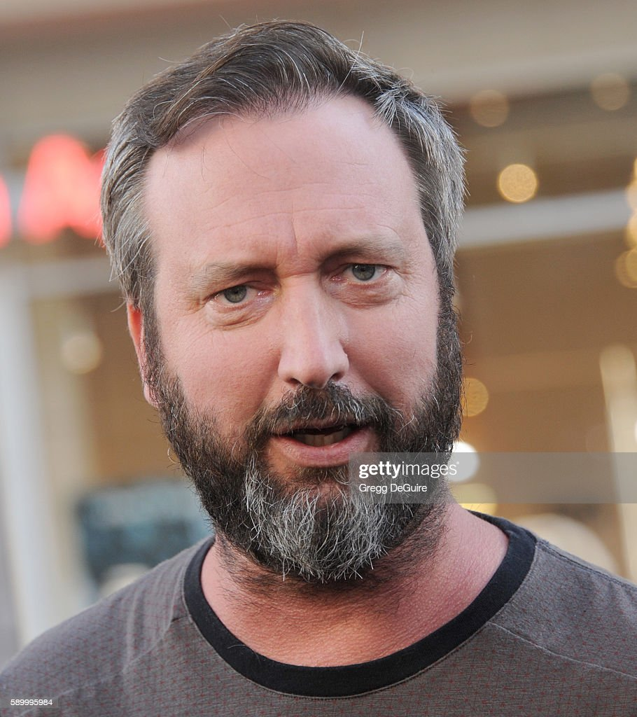 Actor Tom Green arrives at the premiere of Warner Bros Pictures' 'War Dogs' at TCL Chinese Theatre on August 15 2016 in Hollywood California