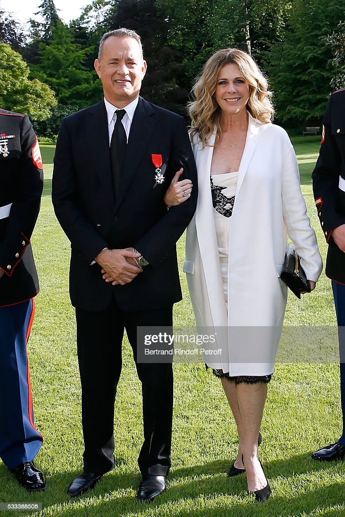 Tom Hanks, Tom Brokaw & Nick Mueller Receive La Legion D'Honneur Medal at Palais de la Legion D'Honneur in Paris