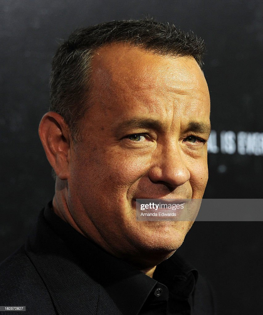Actor <a gi-track='captionPersonalityLinkClicked' href=/galleries/search?phrase=Tom+Hanks&family=editorial&specificpeople=201790 ng-click='$event.stopPropagation()'>Tom Hanks</a> arrives at the Los Angeles premiere of 'Captain Phillips' at the Academy of Motion Picture Arts and Sciences on September 30, 2013 in Beverly Hills, California.