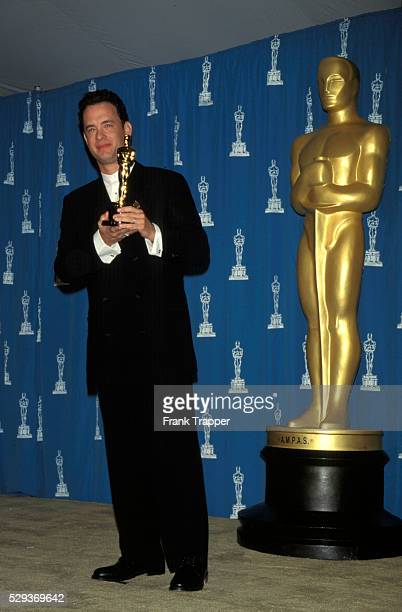 Actor Tom Hanks at the Oscars