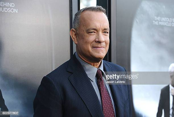 Actor Tom Hanks attends a screening of 'Sully' at Directors Guild Of America on September 8 2016 in Los Angeles California
