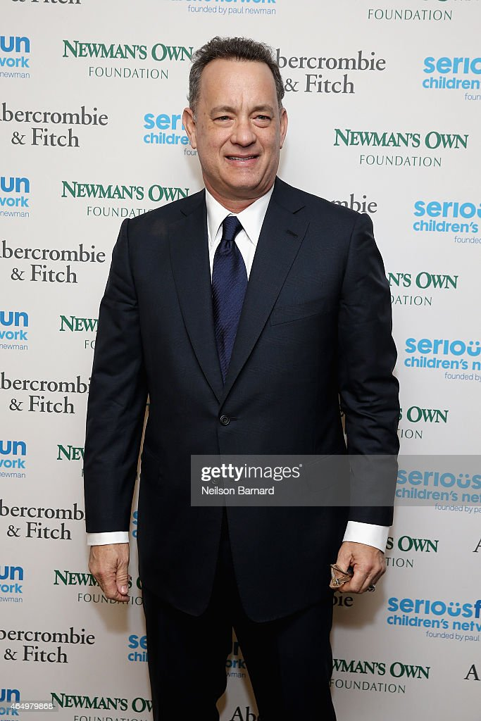 Actor Tom Hanks attends SeriousFun Children's Network 2015 New York Gala: An Evening of SeriousFun Celebrating the Legacy of Paul Newman at Avery Fisher Hall at Lincoln Center for the Performing Arts on March 2, 2015 in New York City.