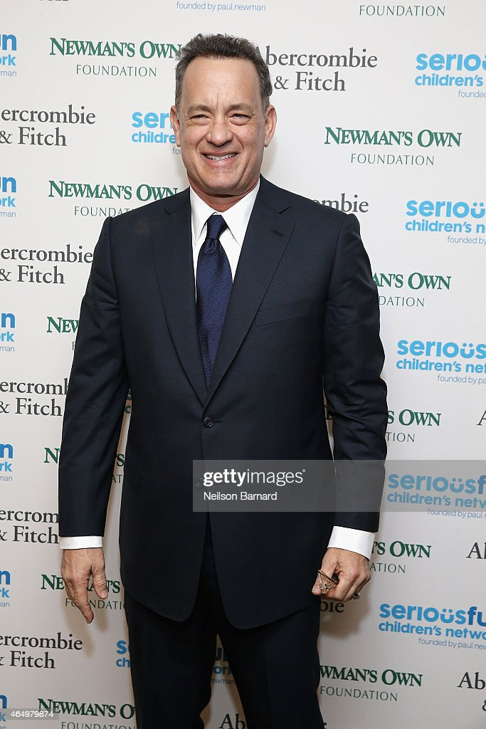 Actor <a gi-track='captionPersonalityLinkClicked' href=/galleries/search?phrase=Tom+Hanks&family=editorial&specificpeople=201790 ng-click='$event.stopPropagation()'>Tom Hanks</a> attends SeriousFun Children's Network 2015 New York Gala: An Evening of SeriousFun Celebrating the Legacy of Paul Newman at Avery Fisher Hall at Lincoln Center for the Performing Arts on March 2, 2015 in New York City.