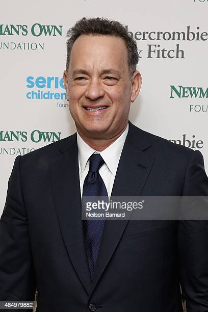 Actor Tom Hanks attends SeriousFun Children's Network 2015 New York Gala An Evening of SeriousFun Celebrating the Legacy of Paul Newman at Avery...