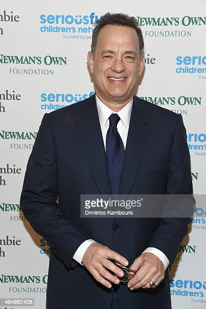 Actor Tom Hanks attends SeriousFun Children's Network's New York City Gala at Avery Fisher Hall Lincoln Center on March 2 2015 in New York City