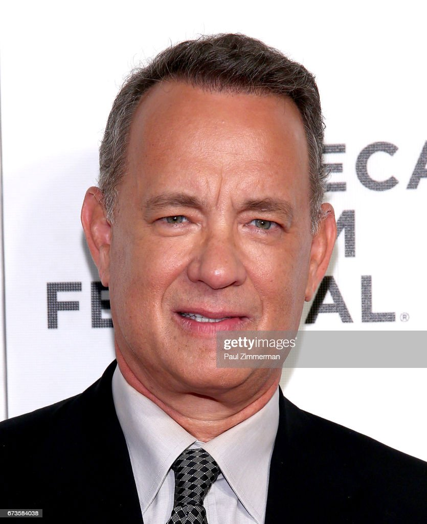 Actor Tom Hanks attends the 2017 Tribeca Film Festival - 'The Circle' at BMCC Tribeca PAC on April 26, 2017 in New York City.