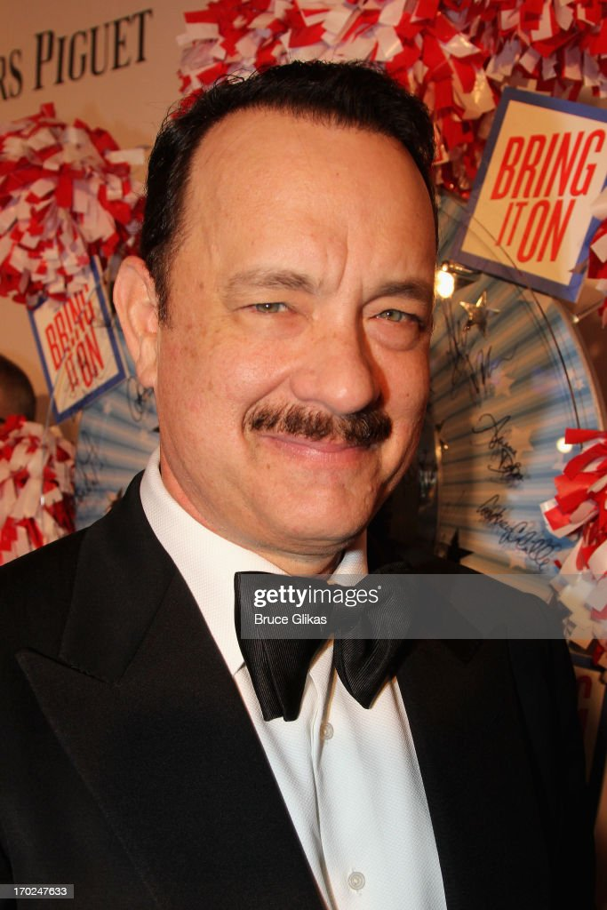 Actor <a gi-track='captionPersonalityLinkClicked' href=/galleries/search?phrase=Tom+Hanks&family=editorial&specificpeople=201790 ng-click='$event.stopPropagation()'>Tom Hanks</a> attends the 67th Annual Tony Awards at Radio City Music Hall on June 9, 2013 in New York City.
